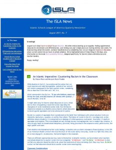 ISLA Newsletter No. 7 - August 2017