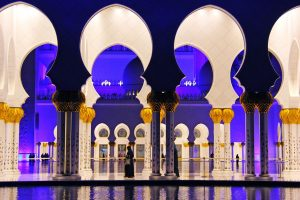 Mosque in Arab Country