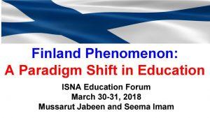 Presentation, Finland Phenomenon