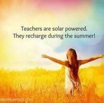 Teachers are Solar Powered