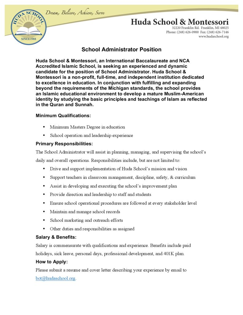 thumbnail of School Administrator Ad