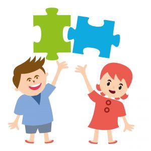 kids collaborate