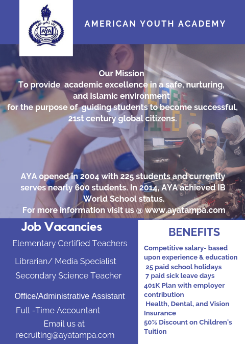 Job Vacancies at AYA