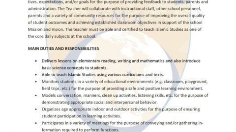 thumbnail of job descrip grade 4-5th teacher