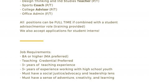 Job Vacancies at Averroes High School
