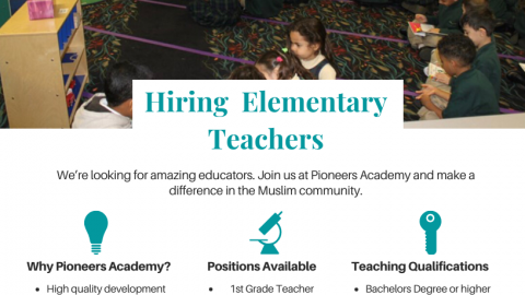 Hiring Elementary Teachers Job Ad
