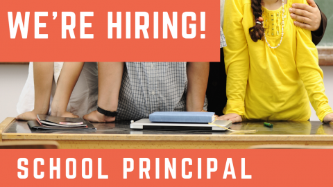 Izzadeen Academy is hiring a School Principal! Great role model, 5 years of experience, and a Bachelor's degree in Education or Management is required.