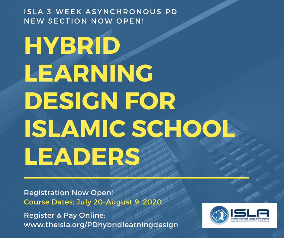 Hybrid Learning Design Poster